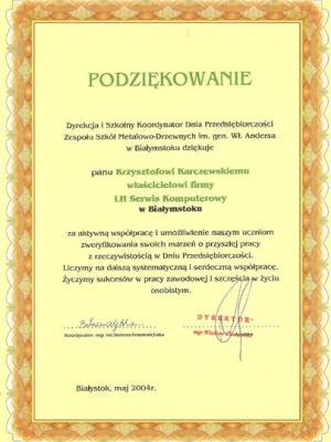 Zespół Szkół Metalowo-Drzewnych w Białymstoku
